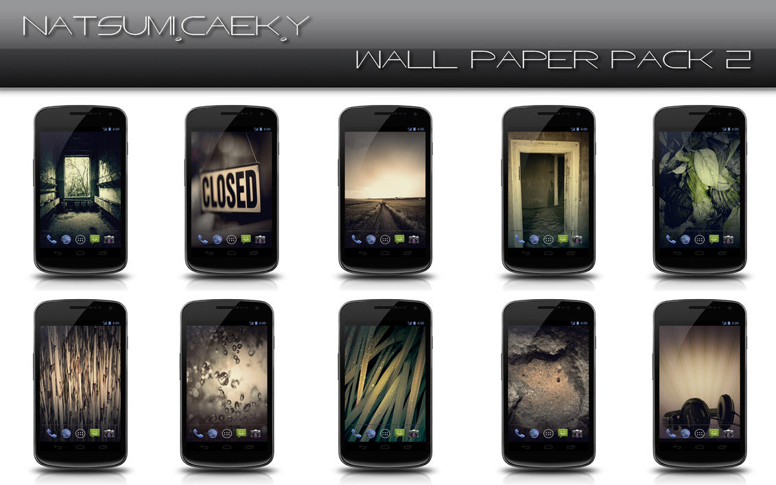 Android Phone Wallpaper Pack 2 by Natsum-i