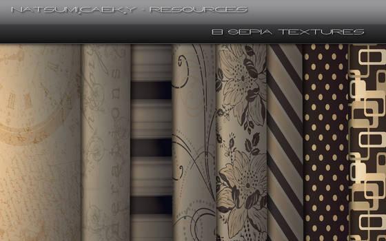 8 Sepia Textures
