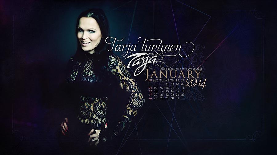 Tarja Turunen ~JANUARY 2014 by brockscence