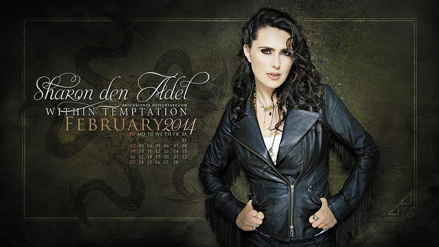 Sharon Den Adel February 2014 By Brockscence On Deviantart