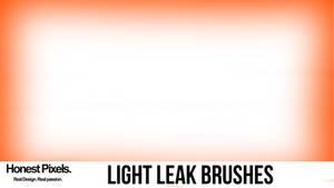 Light leak photoshop brush