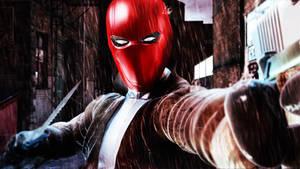 Red Hood Mask OBJ
