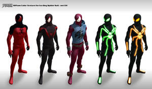 Spider suit Texture set 02