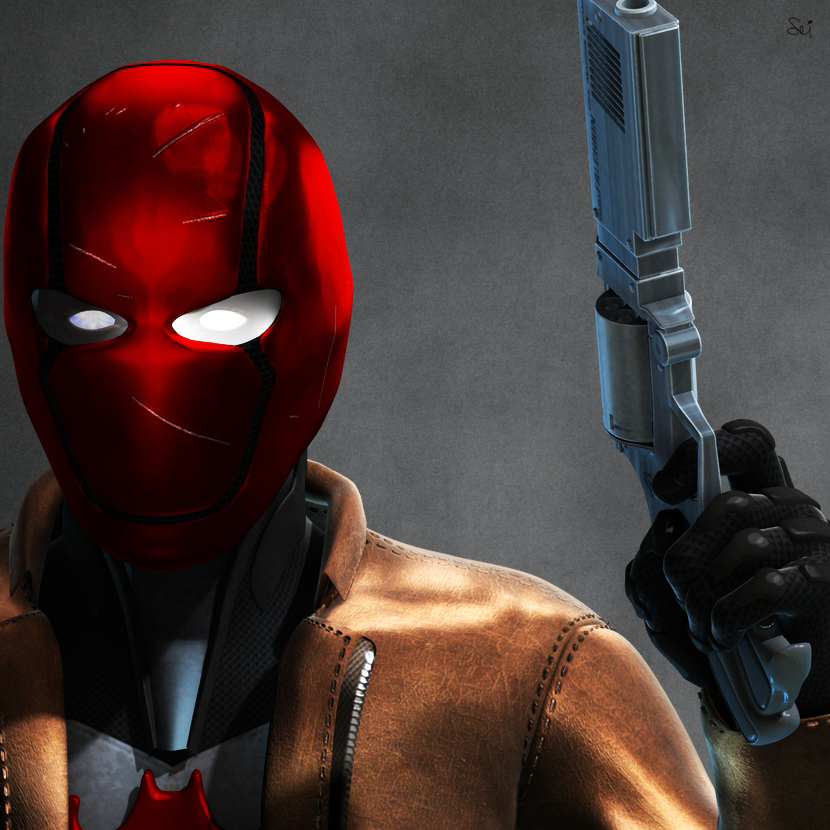 Red Hood Mask 2.0