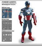 M4 BodySuit Textures Captain America