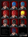 Animated Shape Helmet