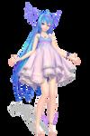 TDA Water Miku by Ciori