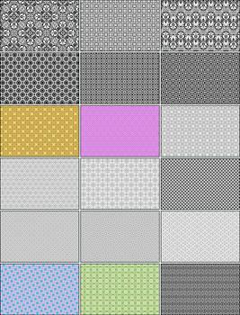 18 Pixel Patterns