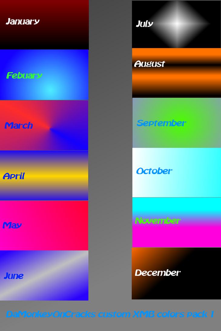 Psp 2018 colors