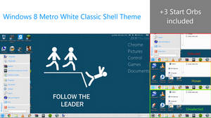 Windows Metro White Classic Shell v1