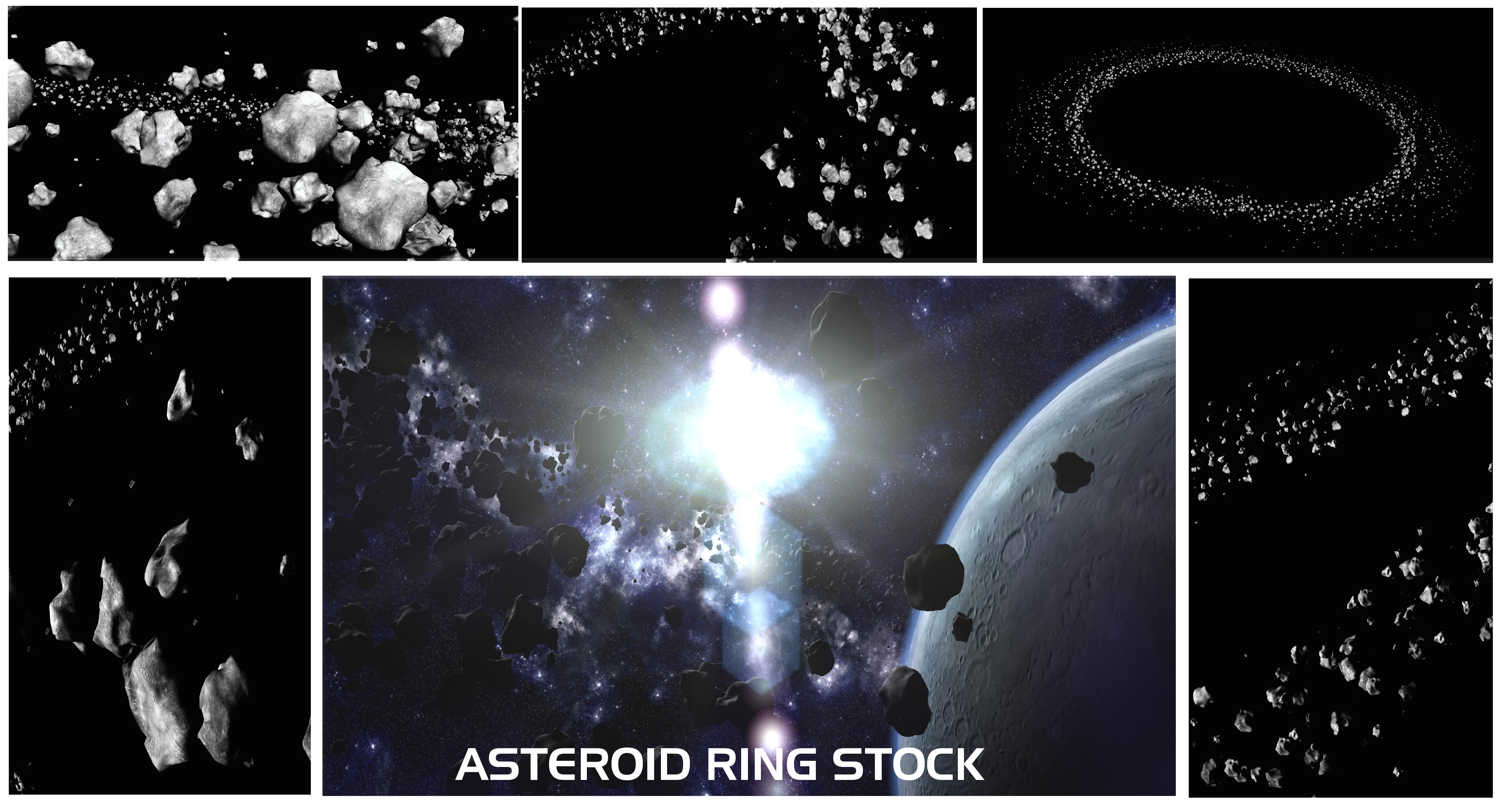 Asteroid Ring Stock Pack