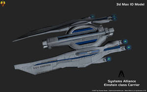 Systems Alliance Einstein Carrier 3d Max 10 Model by Euderion