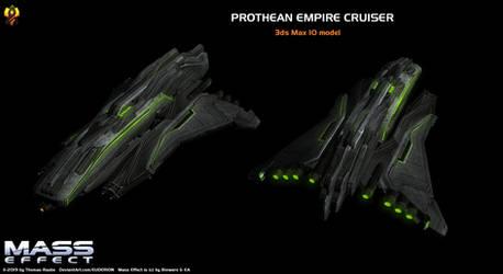 Prothean Cruiser 3d Max model