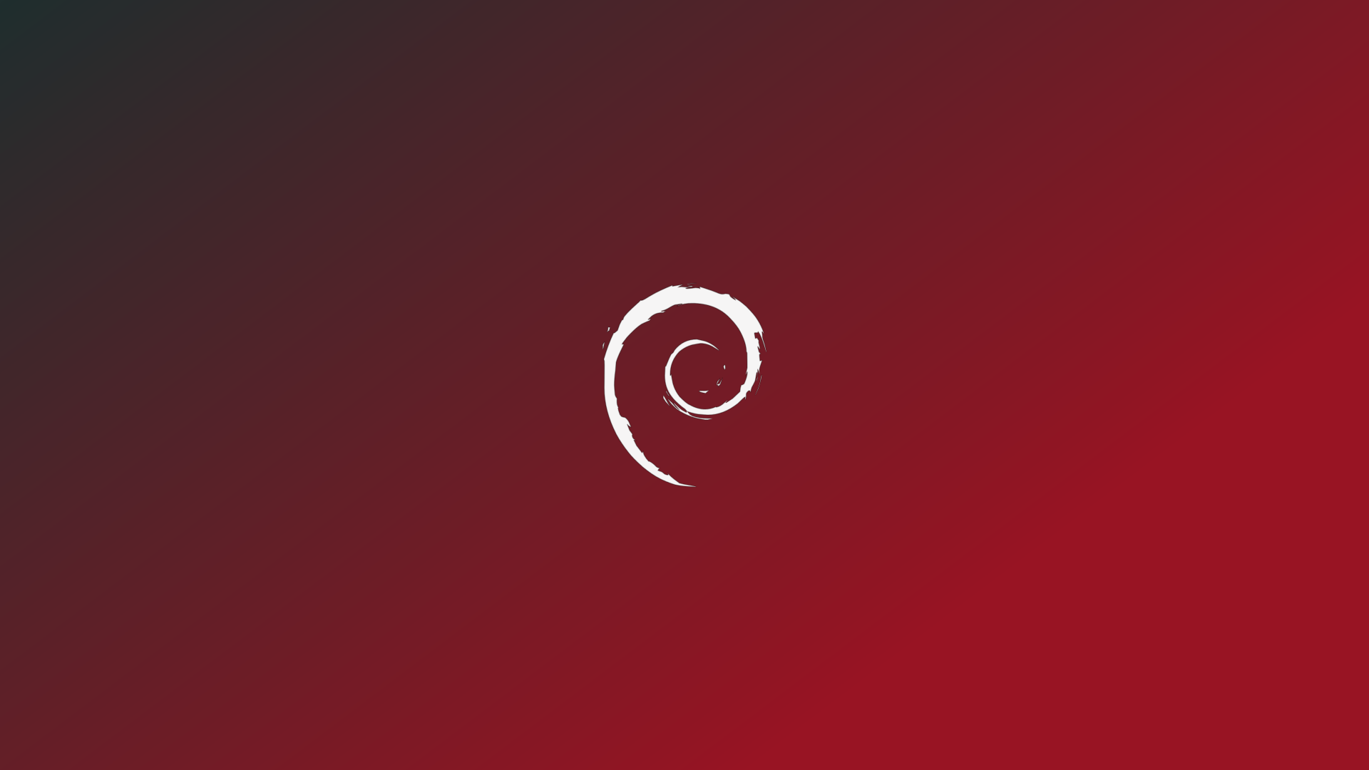 Simple Red Debian Wallpaper By Ivanmladenovi On Deviantart