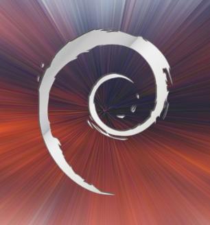 debian aluminium swirl logo by ivanmladenovi on deviantart