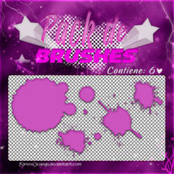 ~~.Pack de Brushes #15 by ISirensDesigns
