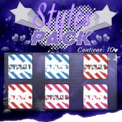 ~.Pack de Styles #12 by ISirensDesigns