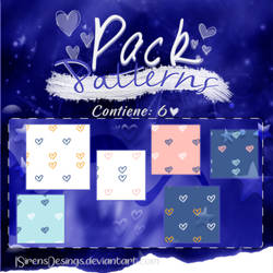 ~.Pack de Patterns #33 by ISirensDesigns