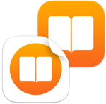 iOS style iBooks and iBooksBook icons