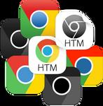 iOS style Google Chrome icons
