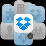 iOS style Dropbox and Dropbox folder icons