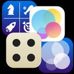iOS style GameCenter icons