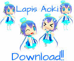 Completed Chibi Lapis + DL