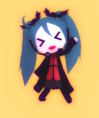 Chibi Vampire Miku + Download by Aira-Melody