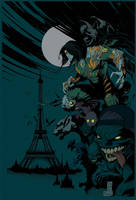 Darkness in Paris Flats by Eddy-Swan-Colors