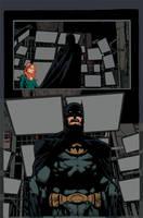 Batman the return page 11 by Eddy-Swan-Colors