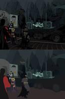 Batman spread Flats by Eddy-Swan-Colors