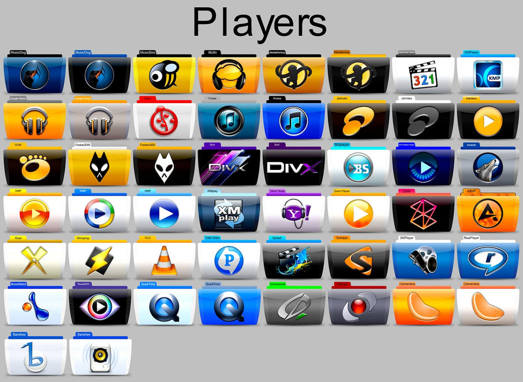 Players Colorflow Pack by SamirPA