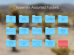 Assorted OS X Yosemite (10.10) Folders