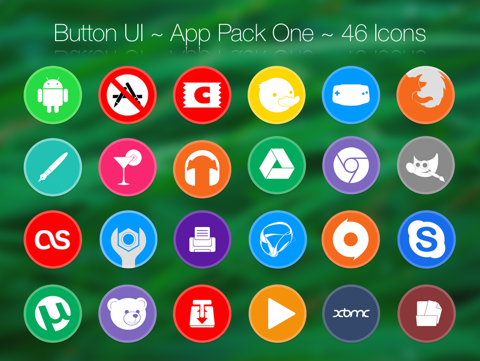 Button UI ~ App Pack One