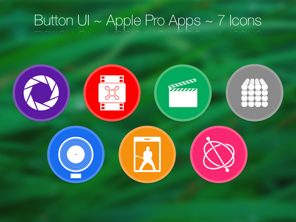 Button UI ~ Apple Pro Apps