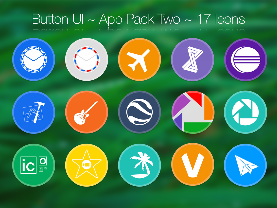 Button UI ~ App Pack Two