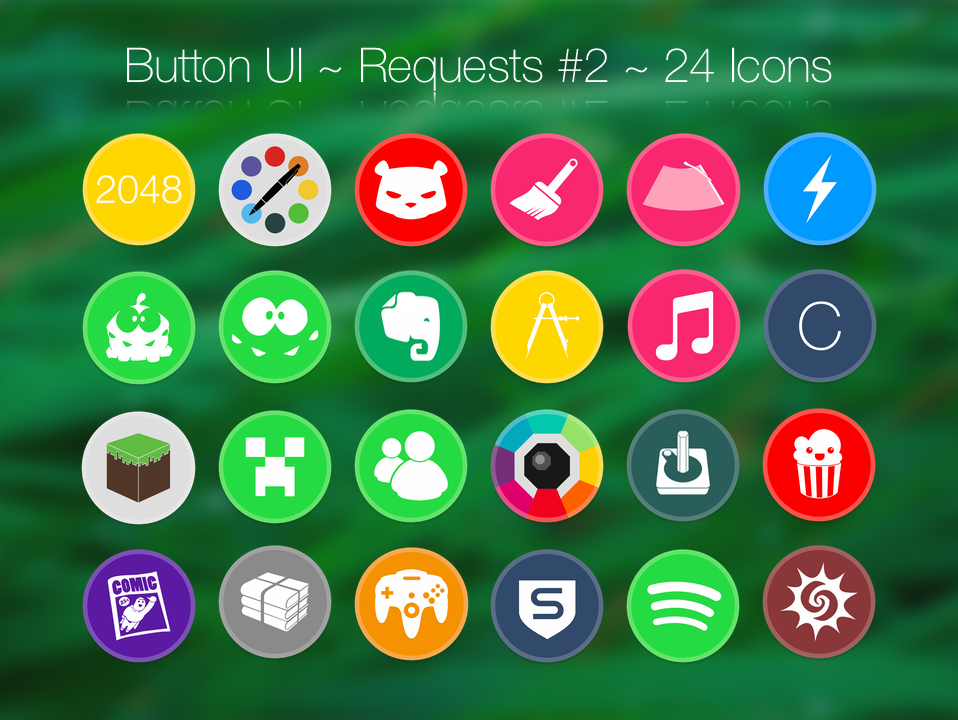 Button UI ~ Requests #2