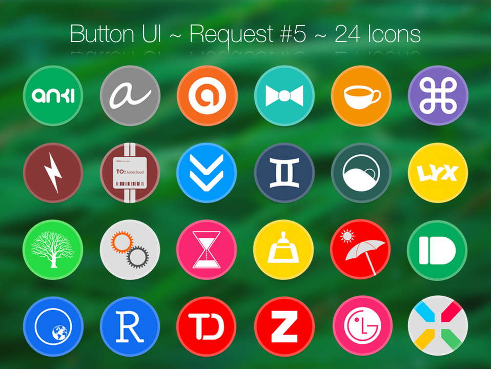 Button UI ~ Requests #5