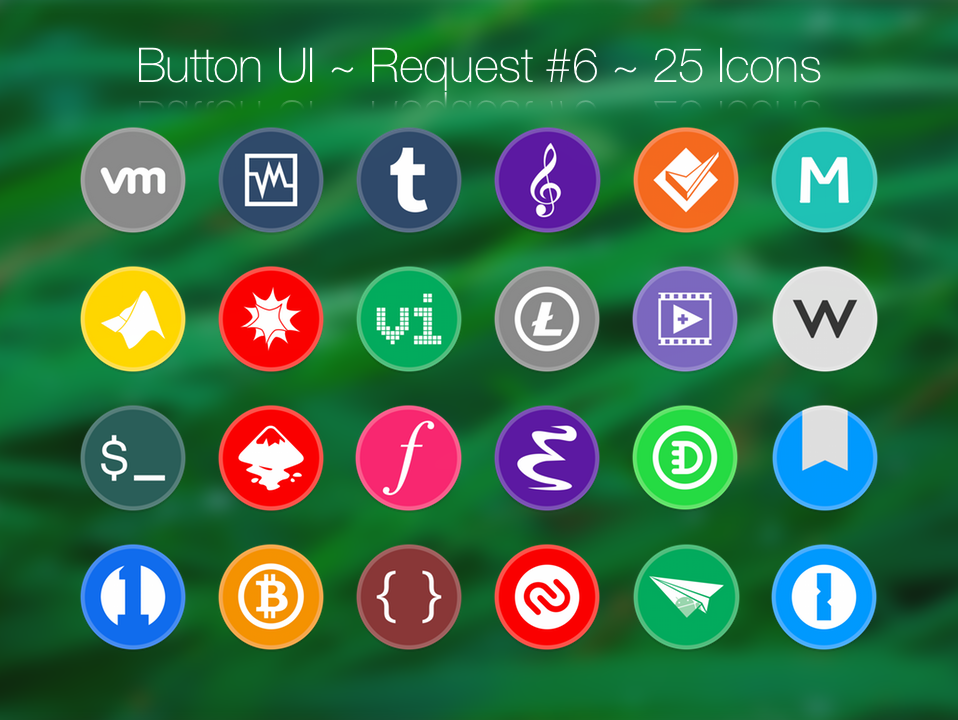 Button UI ~ Requests #6