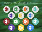 Button UI ~ Microsoft Office 2016