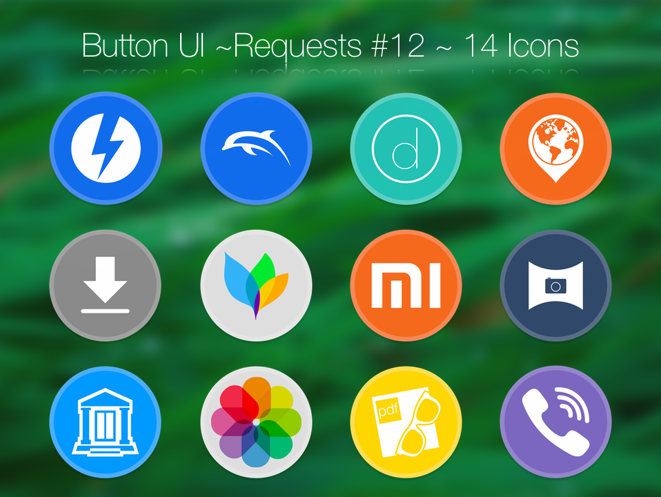 Button UI ~ Requests #12