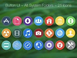Button UI ~ Alternative System Folders by BlackVariant