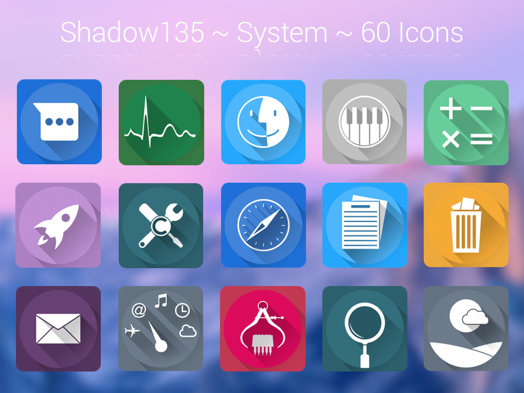 Shadow135 ~ System Icons by BlackVariant