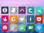 Shadow135 ~ Application Icons Pack 2
