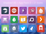 Shadow135 ~ Application Icons Pack 3