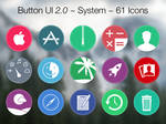 Button UI 2.0 ~ System Icons