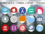 Button UI 2.0 ~ Folders + Drives