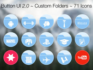 Button UI 2.0 ~ Custom Folders