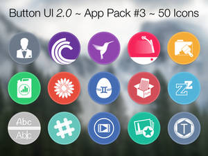 Button UI 2.0 ~ App Pack #3