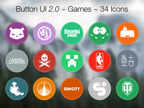 Button UI 2.0 ~ Games